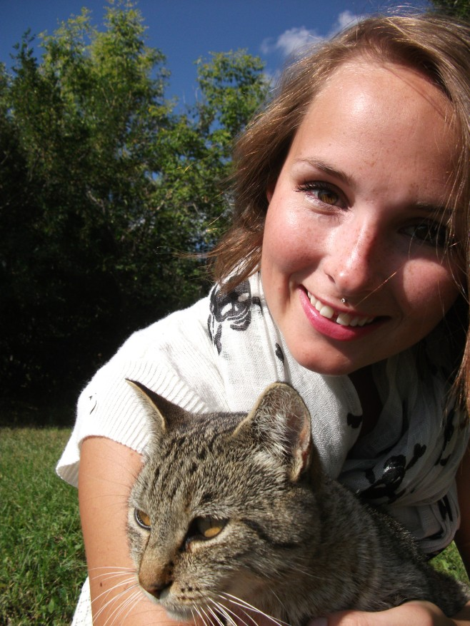 Meet Evie kitty!
