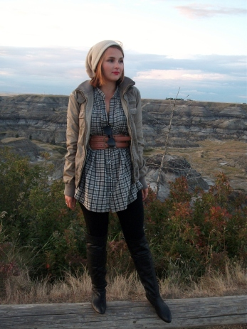 mad for plaid, leather, beanies and boots