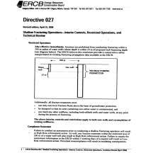 6 ERCB fracturing regulations