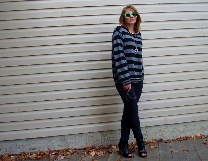borrow from the boys, menswear sweater