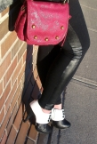 mat and nat cross body bag, le chateau ankle boots