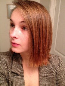 hair growth progress