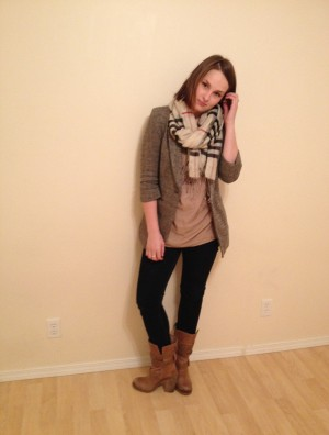 neutral- fall fashion, shades of tan