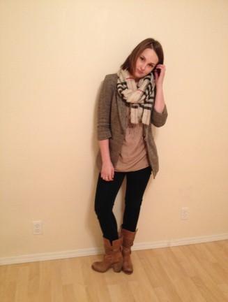 neutral- fall fashion, shades of tan