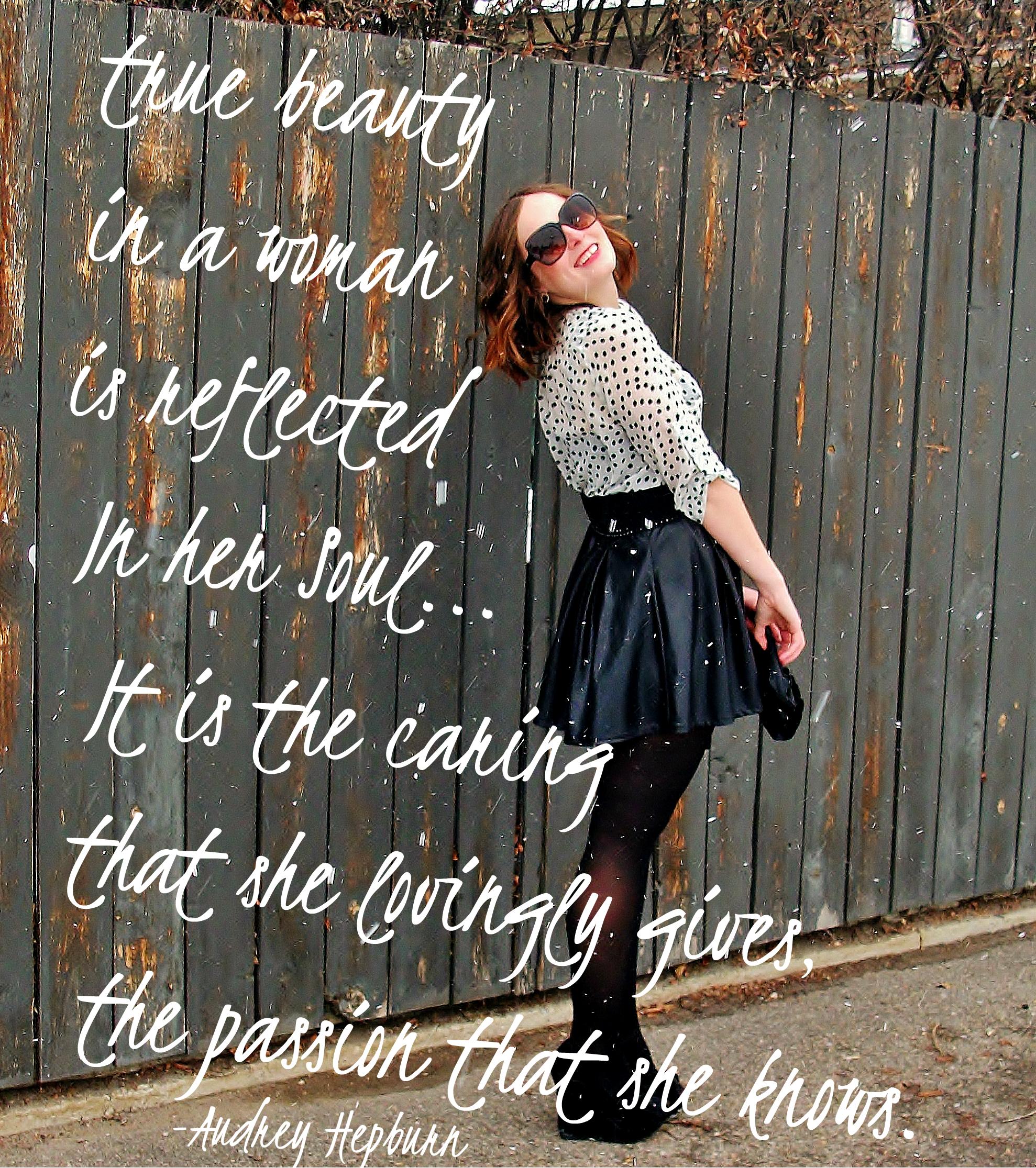 Audrey hepburn quotes aiyana jane