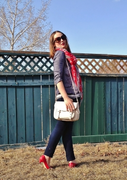 Red White and Blue - Spring Denim Suiting and Nautical Detailing