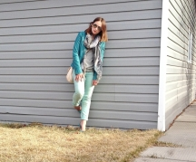spring style, skulls, mint, aviators and leather