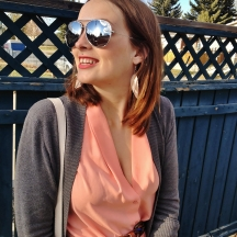 summer love - aviators, smiles, and blush tones