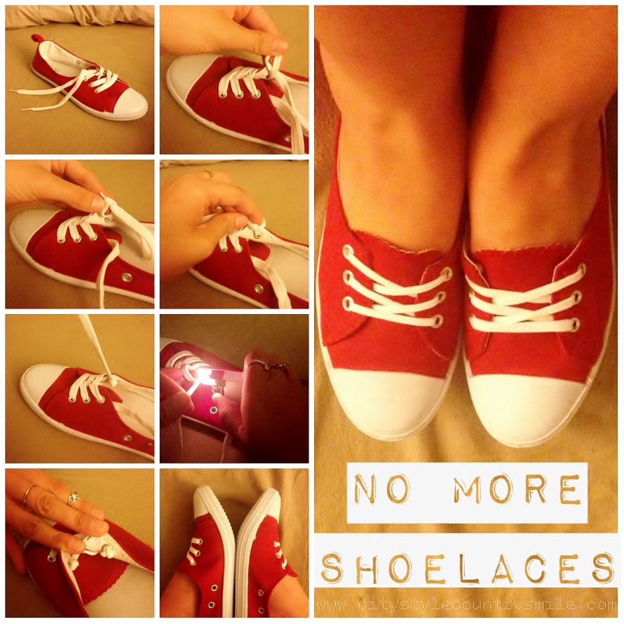 no more shoelaces