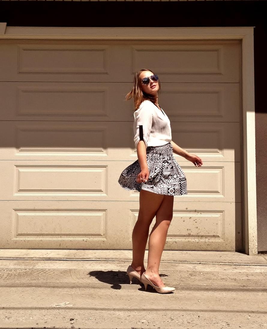 skirt spin