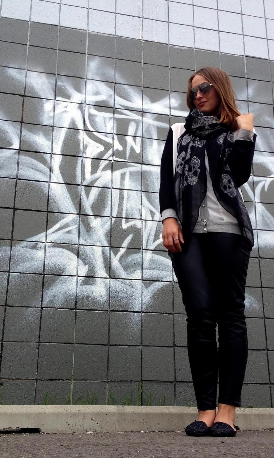 skull skarf